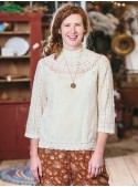 Maribelle Blouse in Ecru | April Cornell - SOLD OUT