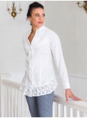 Victorian Blouse in White | April Cornell - SOLD OUT