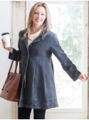Abigail Coat in Charcoal | April Cornell - SOLD OUT